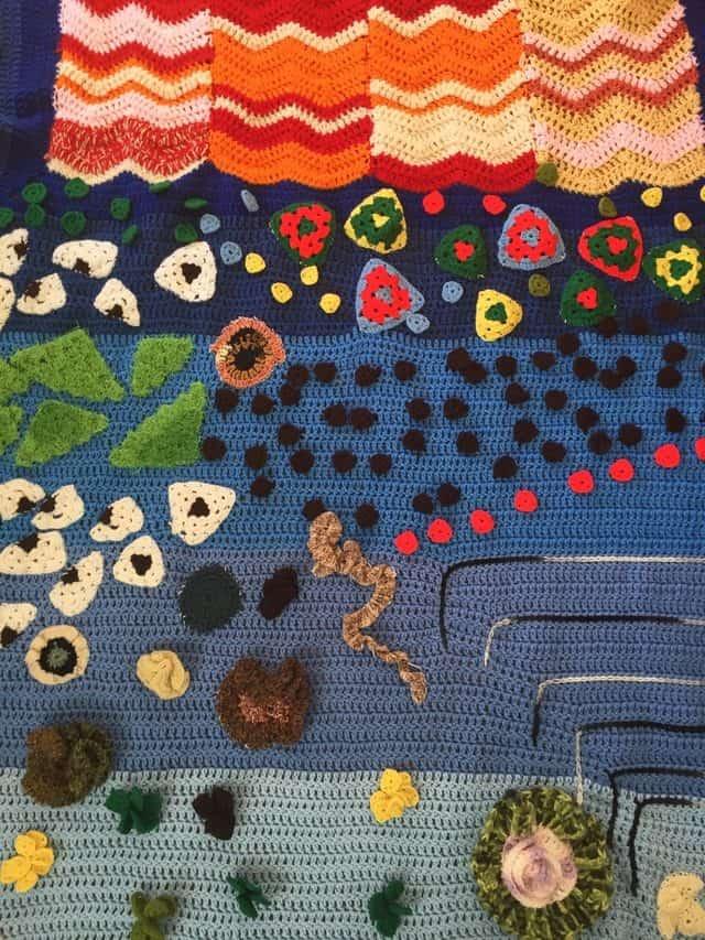 vercillo crochet art for ybla exhibit
