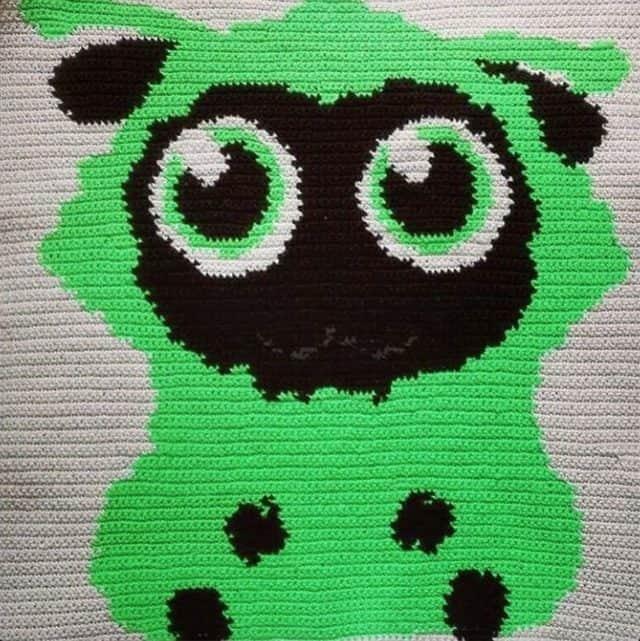 wooltasia crochet graphghan blanket