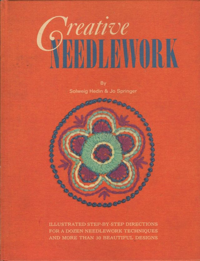 vintage 1960s needlework book