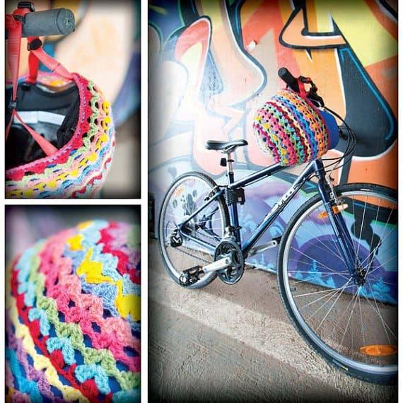 bike helmet cozy crochet pattern