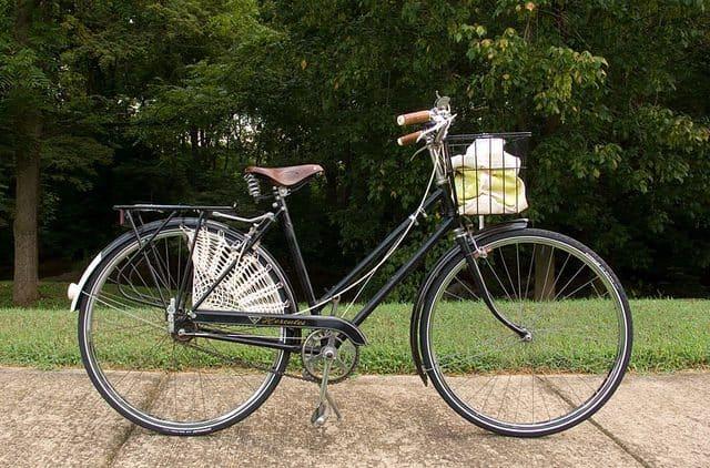 cotton bicycle skirt guard crochet pattern