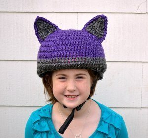 crochet bike helmet cover free pattern