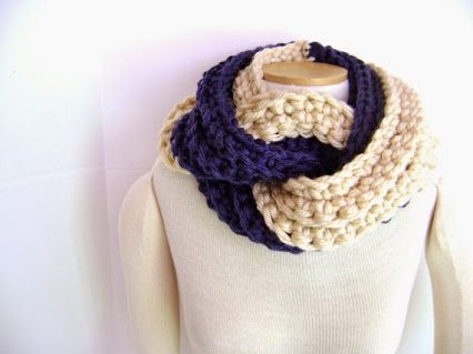 crochet cowl by sheila
