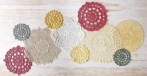 crochet doilies updated