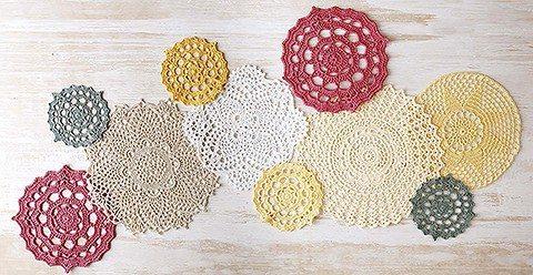 crochet doilies updated