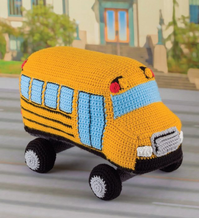 crochet school bus pattern