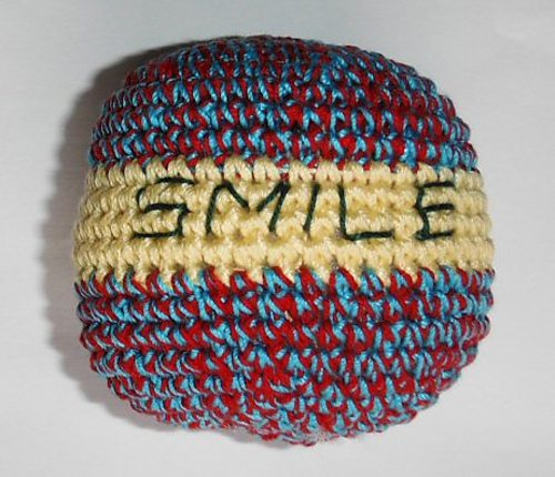 crochet stress ball free patterns