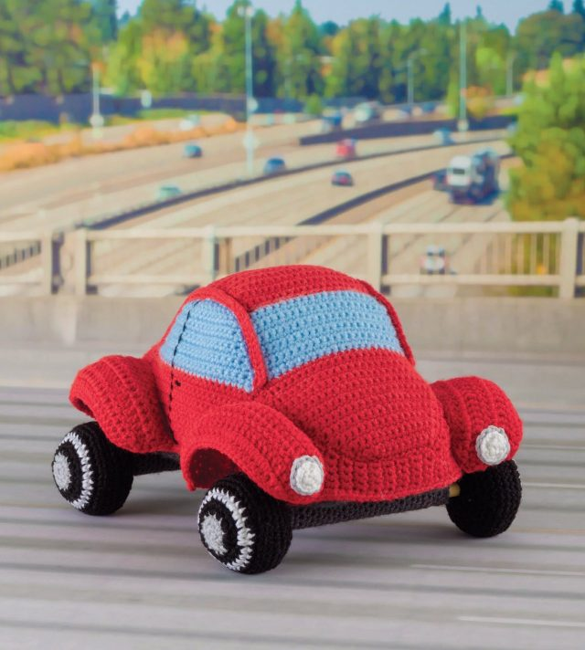 crochet vw beetle pattern