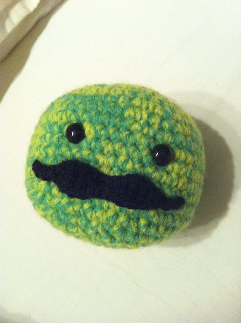 crochet stress ball free pattern