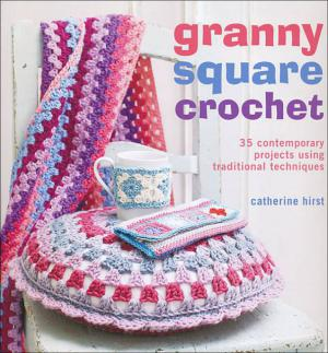 granny square crochet projects book