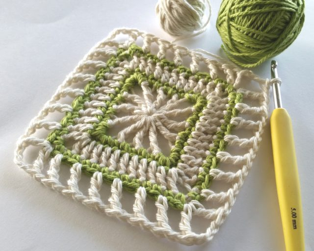 mindful crochet square pattern