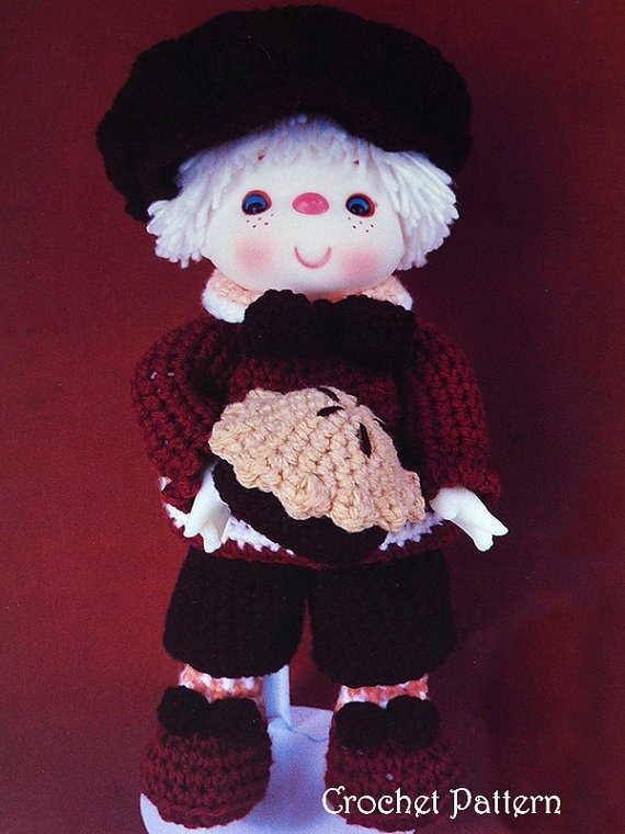 pecan crochet doll pattern