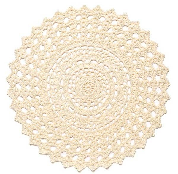 round doily from doilies updated