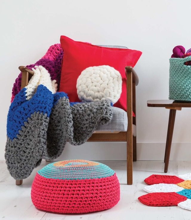 supersize crochet projects