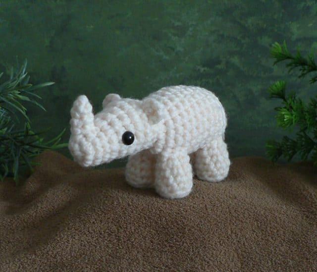 africami rhino crochet pattern