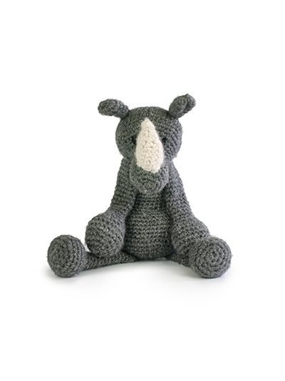 austin the rhino crochet pattern