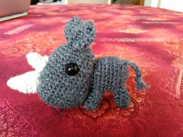 Crochet Star Wars Amigurumi Patterns : Endangered Animal Crochet: RHINO