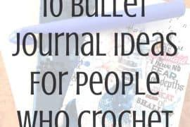 bullet journal crochet
