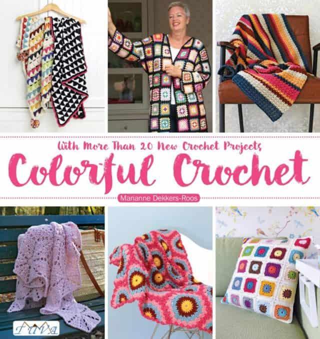 colorful crochet book