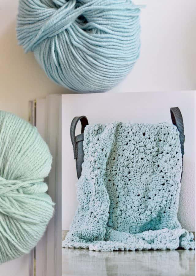 crochet blanket projcet