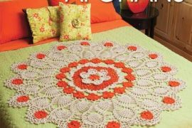 doily afghans crochet book