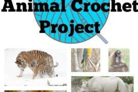 endangered animal crochet project