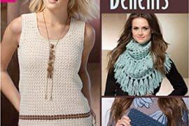 fringe benefits crochet book