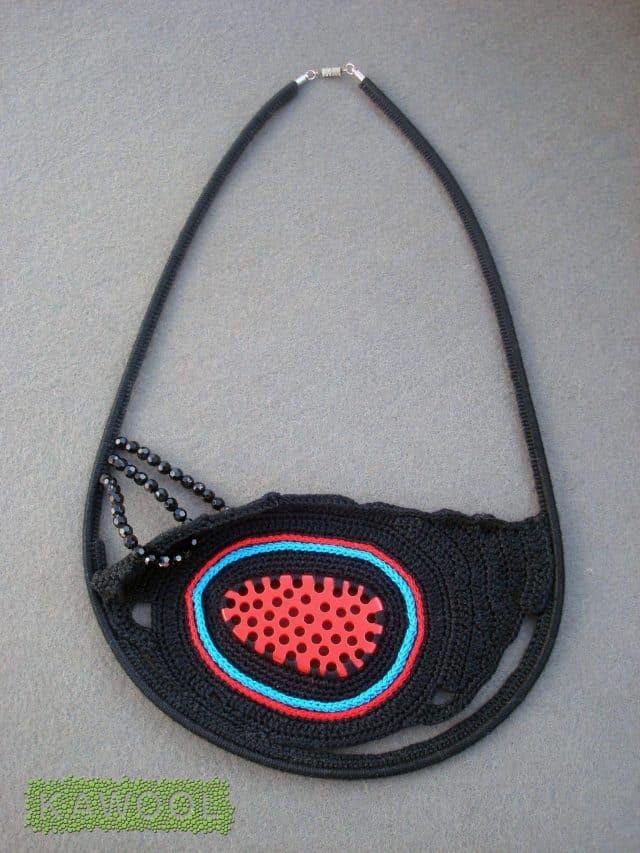kawool crochet colar 2