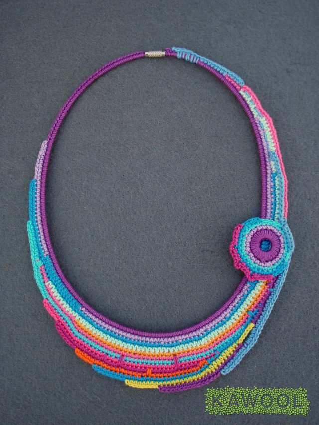 kawool crochet jewelry