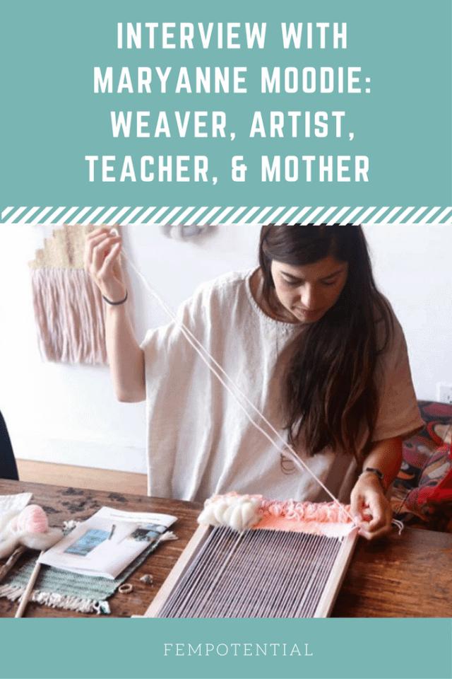 weaving artist maryanne moodie