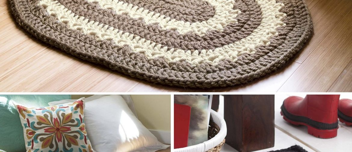 retro rugs crochet book