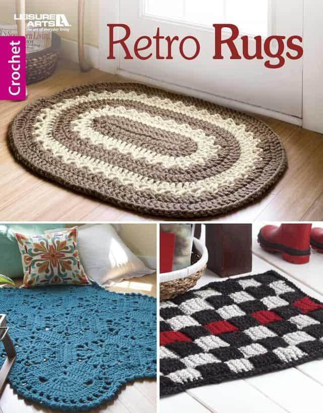 retro rugs crochet book