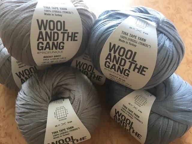 tina tape tencel yarn