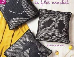 woodland wildlife in filet crochet
