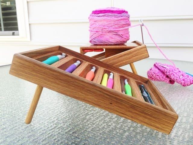 Bedside Comfort Crochet Organizer