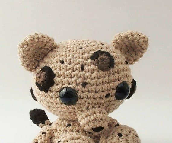 amigurumi leopard crochet pattern