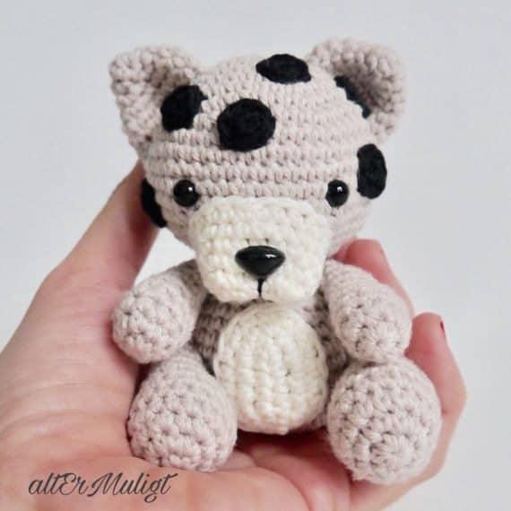 baby leopard crochet pattern