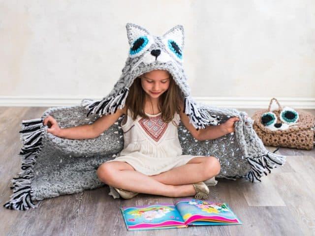 crochet cat blanket pattern