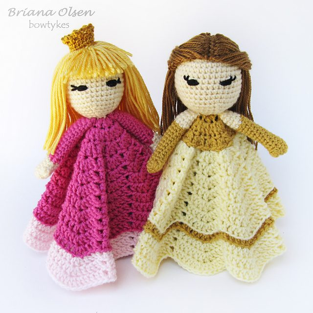 crochet fairy tale loveys