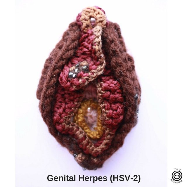 crochet herpes image