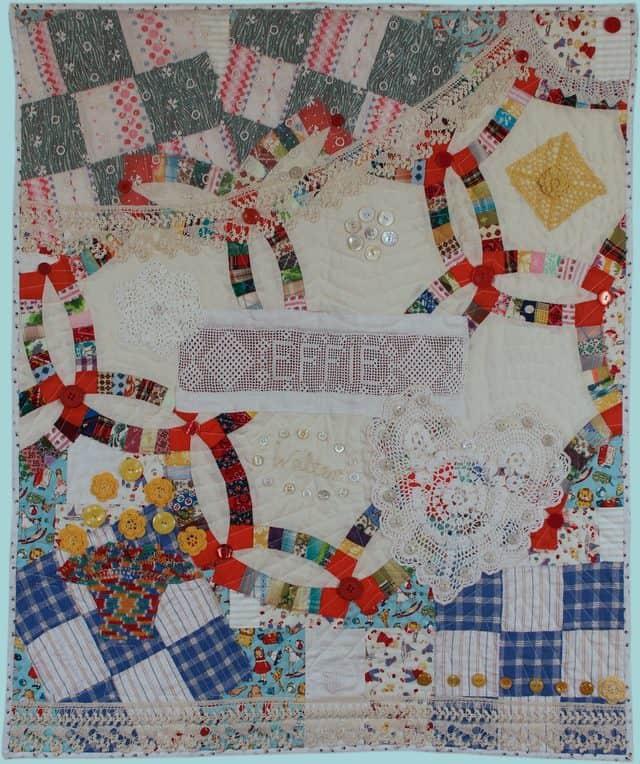 crochet doily art