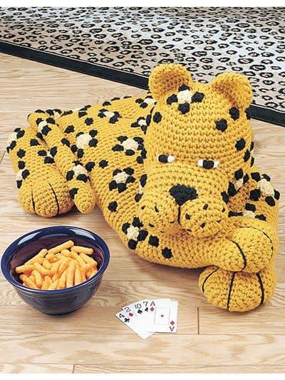 leopard crochet pattern