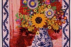 crochet art quilt