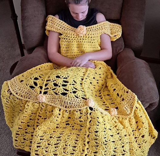 Princess Dress Crochet Blanket And Other Special Blanket Patterns