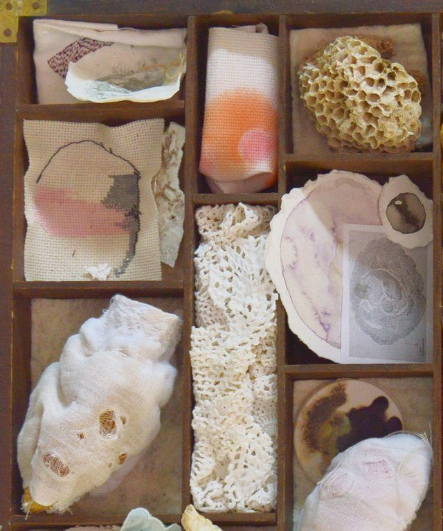 material and process art by Jessica Merle