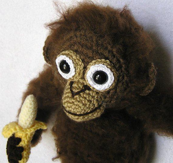 baby orangutan crochet pattern