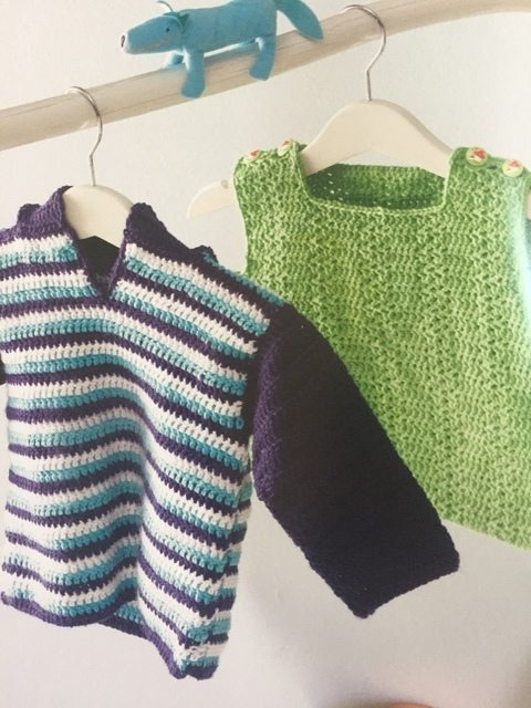 clothes from crocheted gifts for baby