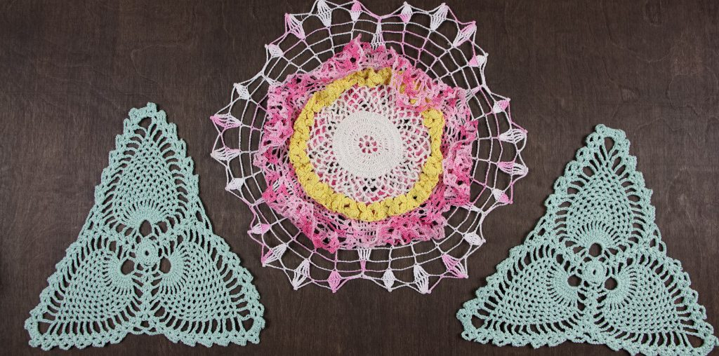crochet doily art by Lindsaycrochet doily art by Lindsay Arnold