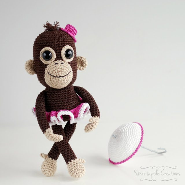 crochet orangutan circus
