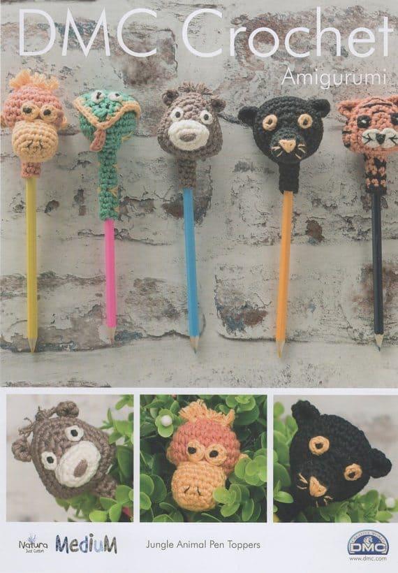 orangutan animal pen topper crochet pattern